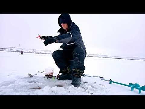 Ловля карася зимой. Зимняя рыбалка 2019.