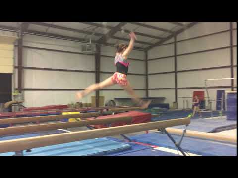Switch Leap and Three Quarter Split Jump