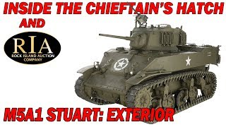 Inside the Chieftain's Hatch: M5A1, Part 1.