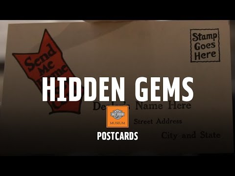 Hidden Gems - PostCards   Harley-Davidson Museum