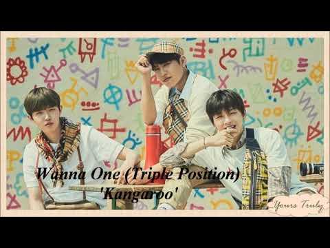 Wanna One (Triple Position) - Kangaroo (Prod. ZICO) Easy Lyrics