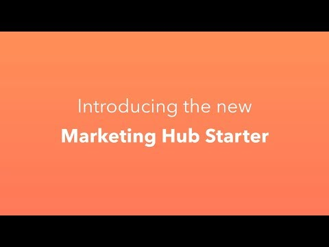 Marketing Hub Starter -- Now with Email