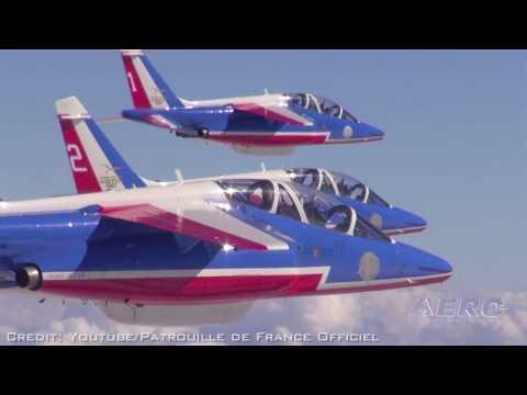 Aero-TV: Precision Flight With An Accent! - Patrouille De France at Sun 'N Fun