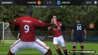 fifa mobile 7 m united  apuesto mi canal a que este video no tiene 4 likes