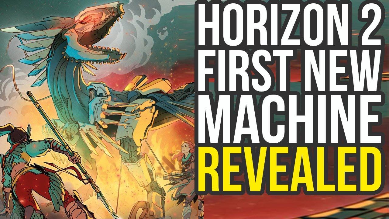 Horizon Zero Dawn 2 Machine Revealed, PS5 Reveal Soon & More News (Horizon 2 PlayStation 5) thumbnail
