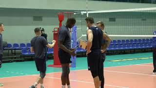 Волейбол Подача Тренировка Команда Зенит Санкт Петербург 2