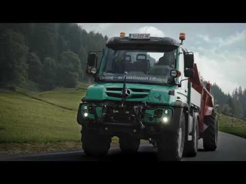Mercedes-Benz Unimog U430 im Agrareinsatz in Österreich