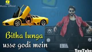 #Bilal Saeed, Hookah Hookah, new song melody rap WhatsApp status 😘 muzzz official 😘😎