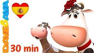 🐮 La Vaca Lola | Canciones Infantiles y Canciones para Niños de Dave y Ava 🐮
