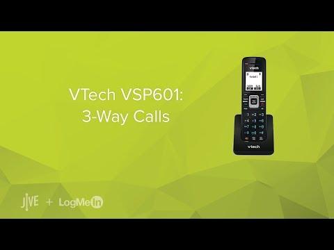 VTech VSP601 -- How Do I Start A 3-way Call?