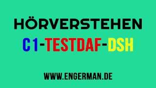 Hörverstehen für C1-TestDaF-DSH | Hörverstehen für Oberstufe #2