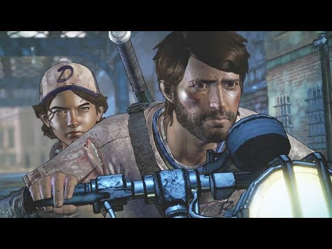 The Walking Dead Game Season 3 Episode 5 - ENDING 3 (Gabe, David & Conrad)