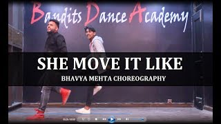 SHE MOVE IT LIKE Ft. BADSHAH | DANCE CHOREOGRAPHY