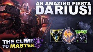 AN AMAZING FIESTA ON DARIUS! - Climb to Master S9 | League of Legends