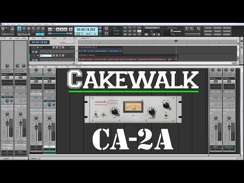 The Best Plugins For Vocals - Cakewalk CA-2A T-Type Compressor