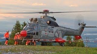 Helicopter Landing  / Super Puma
