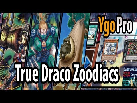 True Draco Zoodiacs (YgoPro) - Enter, Zoodiac Lyca! This deck's best matchup is Zoodiac Beasts.. =3