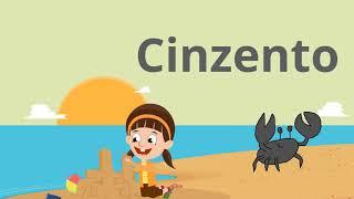Aprender as cores- Caranguejos coloridos - vídeo para bebés e crianças Português PT
