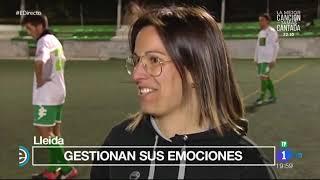 Equip de futbol inclusiu a Lleida