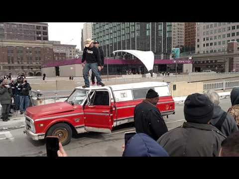 Download Youtube: Farmtruck and Azn opening Detroit Autorama 2016