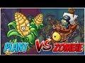 Zombot Plank Walker vs Kernel Corn - Plants vs Zombies Heroes