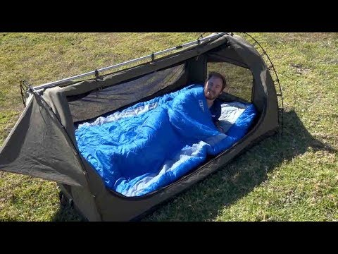 Adventure Kings Daddy Deluxe Sleeping Bag Combo