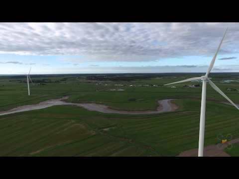 Wind Farm Amherst Nova Scotia