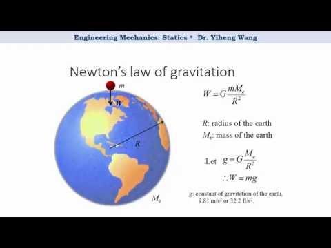 [2015] Statics 03: Newton's Fundamental Laws [with closed caption]
