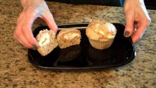 Cream Cheese Filled Carrot Cake Muffins - Lynn's Recipes