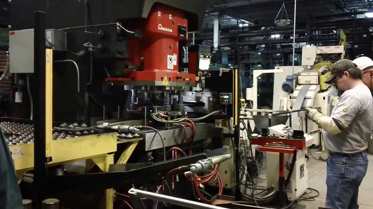 John Deere Amada Stamping Machine
