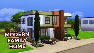 The Sims 4 | House Building | Modern Family Home (Base Game)
