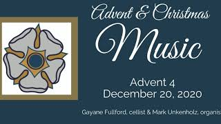 Music Advent 4, December 20, 2020
