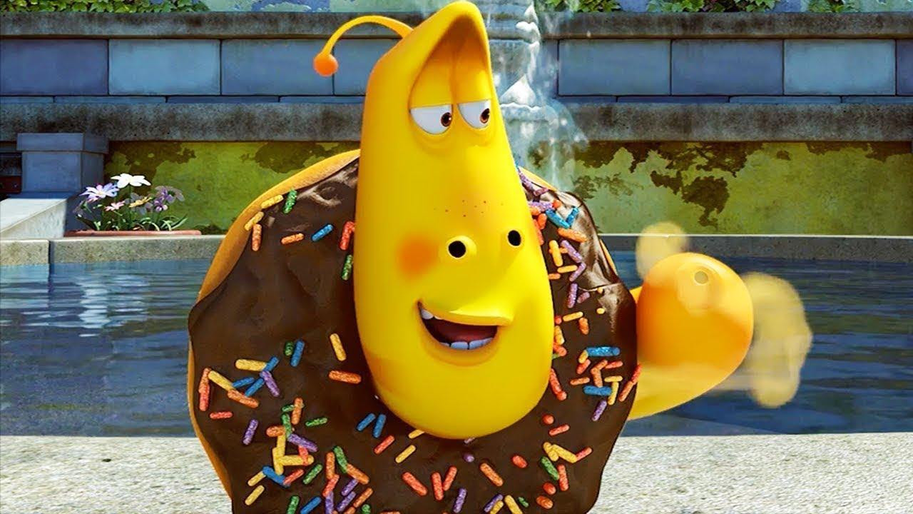 LARVA - CHOCOLATE DONUT | Cartoons For Children | Larva 2018 | Larva Cartoon | WildBrain Cartoons
