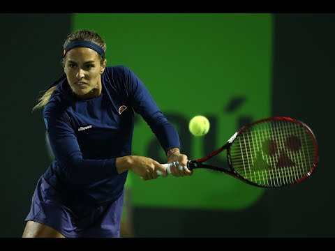 2018 Miami Second Round | Monica Puig vs. Caroline Wozniacki
