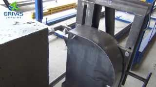 видео Изделия  из  ячеистого  бетона, применяемые  в  строительстве