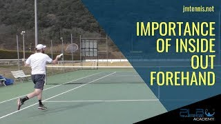 Tennis Forehand: Importance of Inside Out Forehand I JM Tennis - Online Tennis Training Programs
