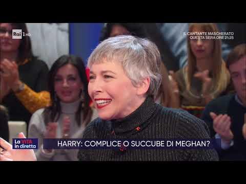 Harry e Meghan: la famosa fuga dei duchi del Sussex da Londra - La vita in diretta 10/01/2020