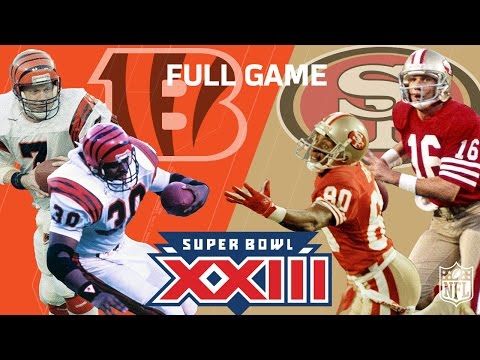 "Super Bowl XXIII: ""Montana & Rice"