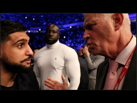 'MAKE THE FIGHT HAPPEN!' - AMIR KHAN ISSUES MESSAGE STRAIGHT TO BARRY HEARN FOR KELL BROOK FIGHT