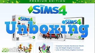 Unboxing The Sims 4 Premium Edition