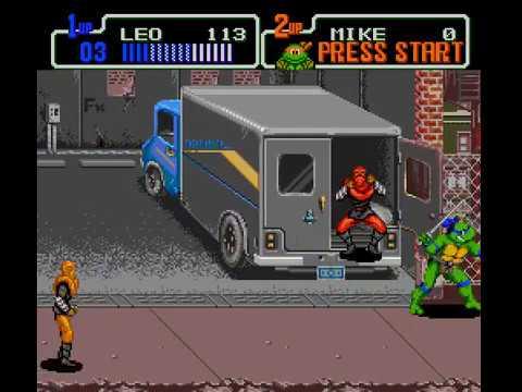 Mega Drive Longplay [498] Teenage Mutant Ninja Turtles: The Hyperstone Heist