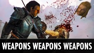 Skyrim Mods: Weapons, Weapons, Weapons