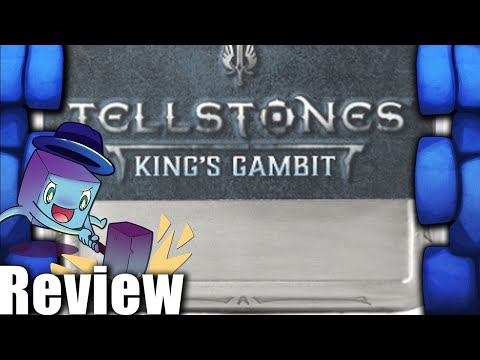 Tellstones: King's Gambit Review - with Tom Vasel