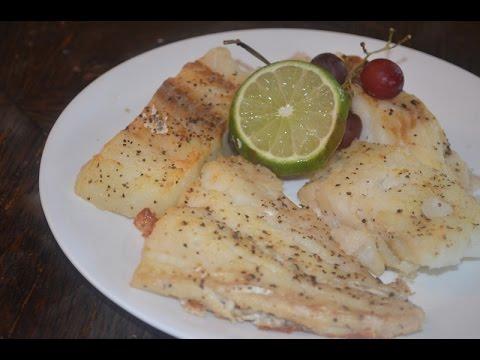 Baked Cod Fish Or Baked Isda Na Bakalaw
