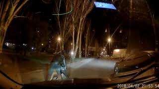 0512: пьяный мужчина упал на проезжую часть