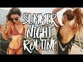 SUMMER NIGHT ROUTINE 2017 Swimsuit Try On Photoshoot
