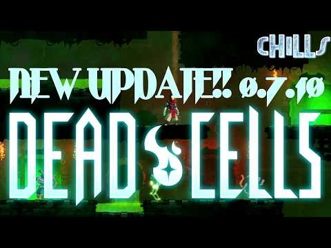 DeadCells NEW HELLO DARKNESS UPDATE!! Cool new changes! MetroidVania Sidescroller Pc Gameplay