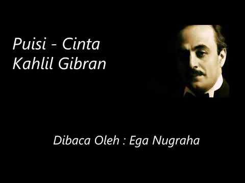 "Puisi ""cinta"" Kahlil Gibran"