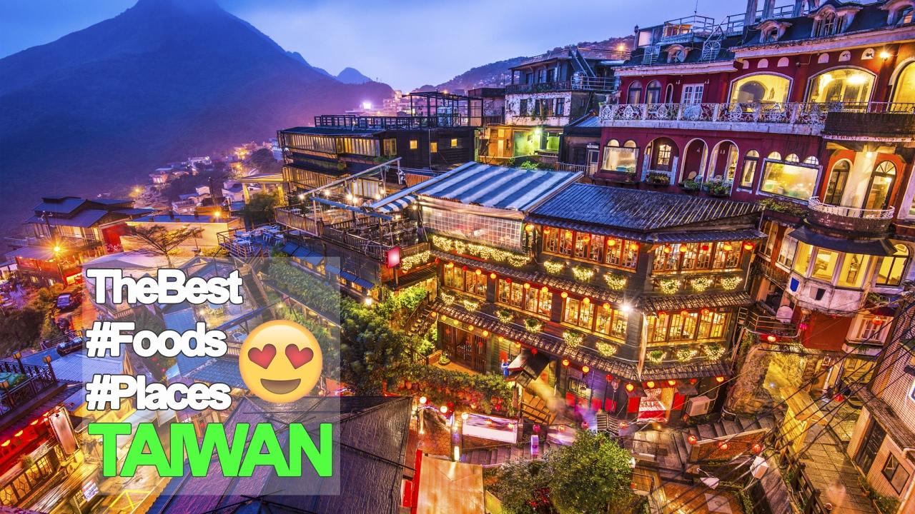 RƯ VLOG ♡ DU LỊCH ĐÀI LOAN ĂN GÌ ĐI ĐÂU? - The Best #Foods #Places In Taiwan