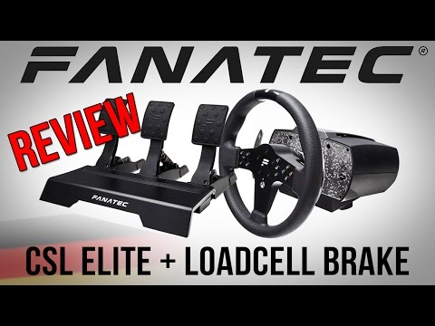 Review - Fanatec CSL Elite Wheel Base + Loadcell Brake Kit [GER] [HD] - Fakten und Eindrücke